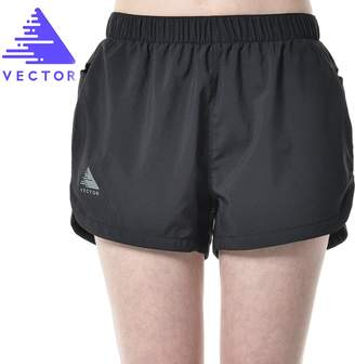 Vector Outdoor Quick Dry Lightweight Fitness Gym Beach Training Marathon Running Shorts Women with Pockets