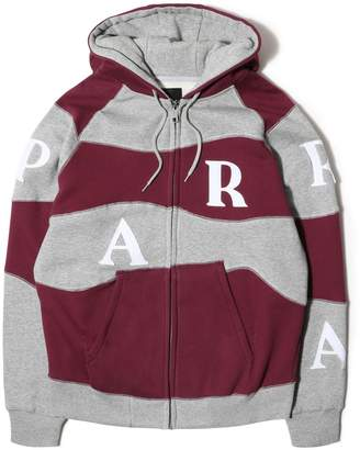 By Parra HOODED VEST WAVEY STRIPES