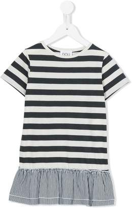 Douuod Kids striped T-shirt dress
