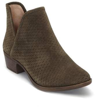 Lucky Brand Baley Suede Bootie - Wide Width Available