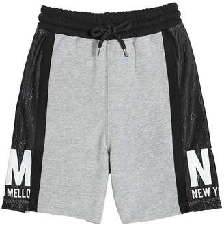 Fred Mello Cotton & Mesh Shorts