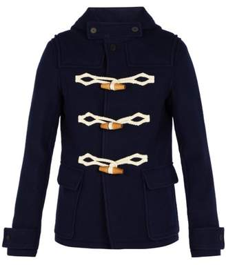 J.W.Anderson Hooded Duffle Coat - Mens - Navy