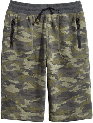 Epic Threads Big Boys Camo-Print Pull-On Shorts