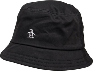 Original Penguin Mens Bucket Hat Black 4a008b33159