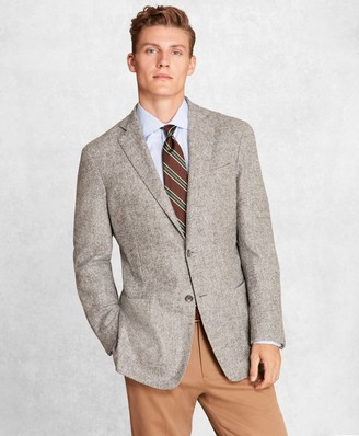 Brooks Brothers Golden Fleece BrooksCloud Alpaca-Blend Twill Sport Coat