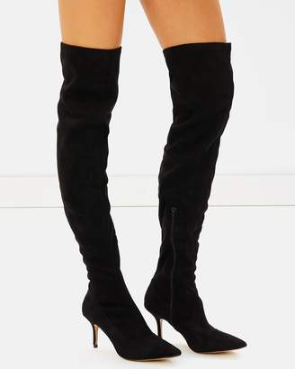 cheap supply Billini Maddy OTK Stiletto Point Boots free shipping best store to get 6f61UA