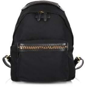 Stella McCartney Medium Nylon Falabella Backpack