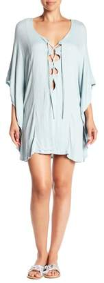 Green Dragon Lace-Up Tunic