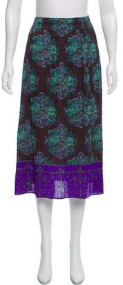 Pleats Please Issey Miyake Plisse Midi Skirt