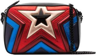 Stella McCartney multicoloured Star quilted vegan leather bag