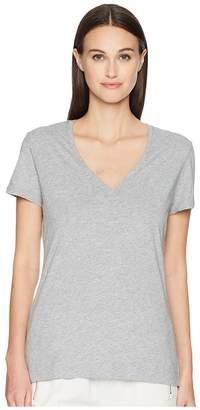 ADAM by Adam Lippes Short Sleeve V-Neck Core Tee Women's T Shirt