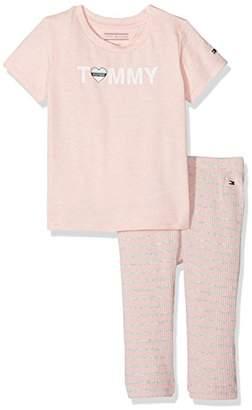 Tommy Hilfiger Baby Charming Logo 2piece Giftbox Clothing Set