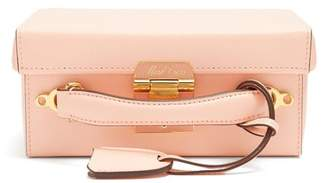 Mark Cross Grace Small Pebble Leather Shoulder Bag - Womens - Light Pink