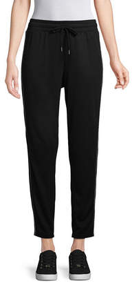 ST. JOHN'S BAY SJB ACTIVE Active Womens Mid Rise Cuffed Track Pant