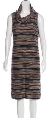 Neiman Marcus Knit Sleeveless Dress