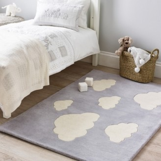The White Company Cloud Tufted Rug, Cool Grey, One Size