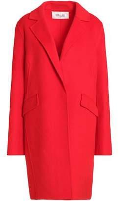 Diane von Furstenberg Wool-Blend Felt Coat