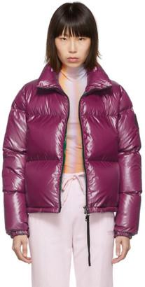 Moncler Purple Down Rimac Jacket