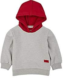 Haus of JR Kids' Cotton French Terry Hoodie-Gray