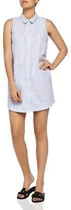 BCBGeneration Pinstriped Shirt Dress