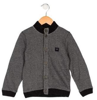 Armani Junior Boys' Button-Up Cardigan