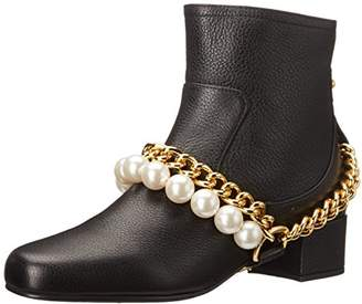 Moschino Cheap and Chic Women's Chain and Pearls Boot