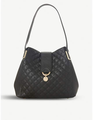 Dune Diamh quilted hobo shoulder bag