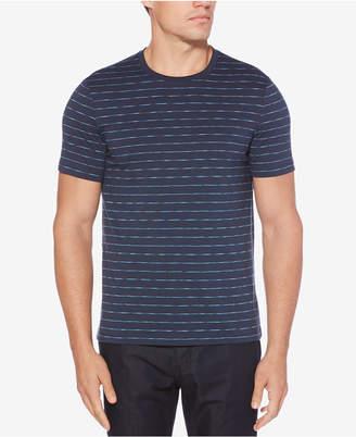 Perry Ellis Men's Striped Cotton T-Shirt