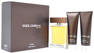 Dolce & Gabbana Men's The One 3Pc Gift Set