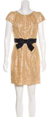 Milly Sequin Mini Dress