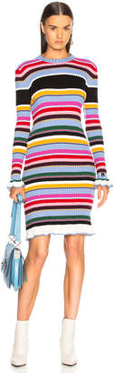 MSGM Striped Sweater Dress