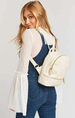 Show Me Your Mumu Good Fortune Mini Backpack ~ Ivory