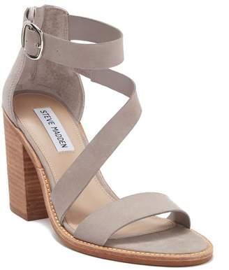d11a5c51d4 Steve Madden Beige Block Heel Women's Sandals - ShopStyle