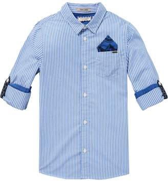 Scotch & Soda Blue Shirt
