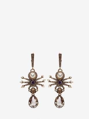 Alexander McQueen Spider Earrings