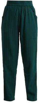 Ace&Jig Gatsby Cotton Trousers - Womens - Emerald