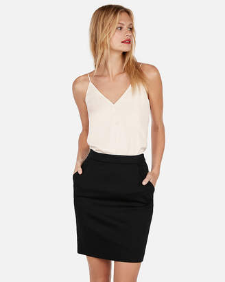 Express Button Front Downtown Cami