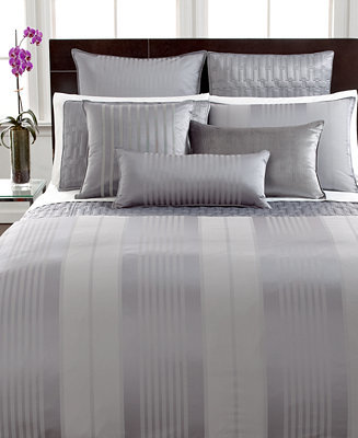 Hotel Collection CLOSEOUT! Classic Stripe King Duvet Cover