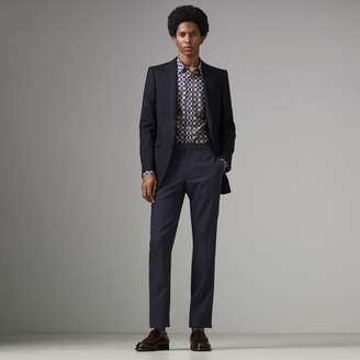 Burberry Slim Fit Wool Twill Suit