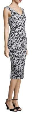 Michael Kors Floral Jacquard Dress