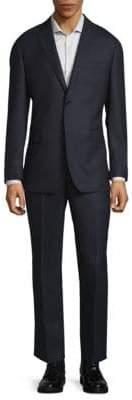 Nailhead Slim-Fit Wool Suit