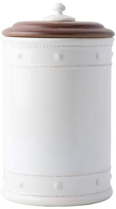 Juliska Berry & Thread Whitewash Ceramic Canister