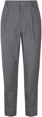 Brunello Cucinelli Wool Tapered Trousers
