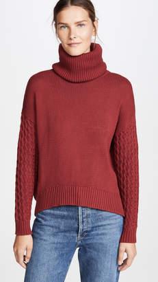 One Teaspoon Blood Rider Roll Neck Knit Sweater