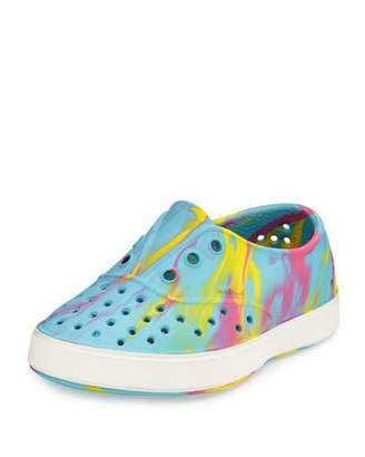 Native Miller Waterproof Marbled Rubber Skate Shoe, Yellow/Pink/Blue/White, Youth $40 thestylecure.com