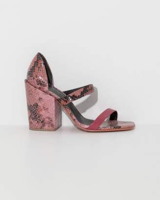 Rachel Comey Pink Snake Lico Sandal