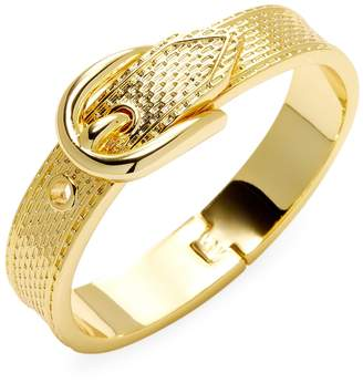 Vanessa Mooney Women's Gold Buckle Bracelet