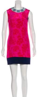 Mary Katrantzou Embellished Silk Dress