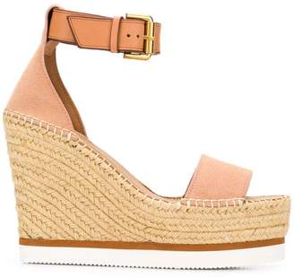 See by Chloe Glyn Wedge Espadrille