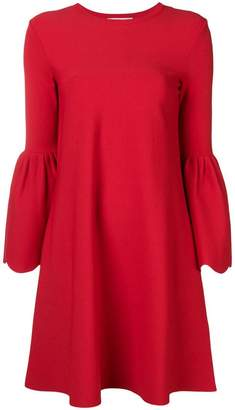 Valentino bell sleeved dress